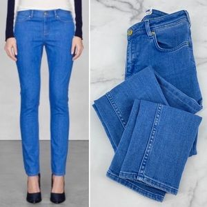 & OTHER STORIES Jeans Bright Blue Skinny High Rise